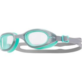 TYR Special Ops 2.0 Transition duikbrillen Dames grijs/turquoise